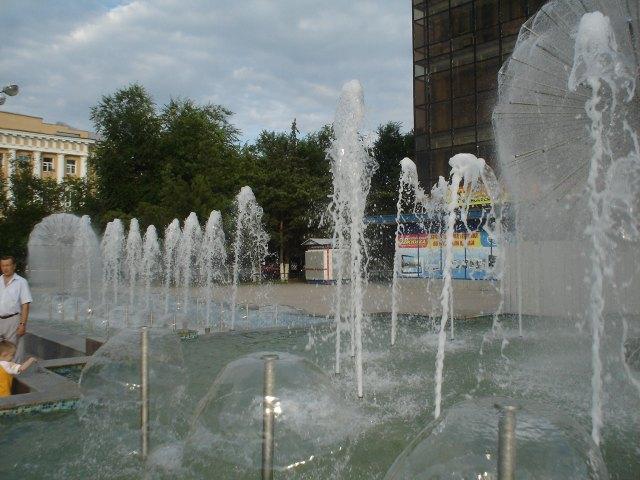 Фонтаны Новочеркасск