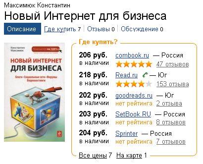Отзыв о книге Новый интернет для бизнеса